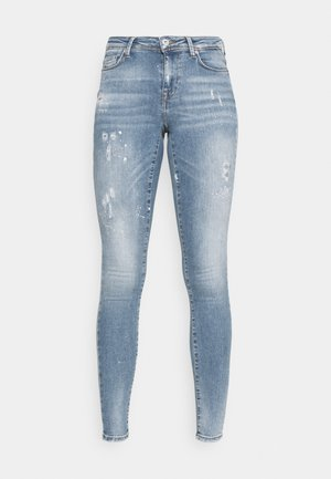 ONLSHAPE LIFE - Jeans Skinny Fit - medium blue denim