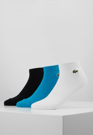 3 PACK - Chaussettes - white/black/turquoise