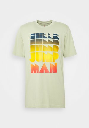 AIR WASH CREW - Camiseta estampada - celadon