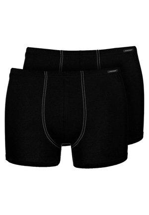 ESSENTIAL SHORTS 2 PACK - Pants - black