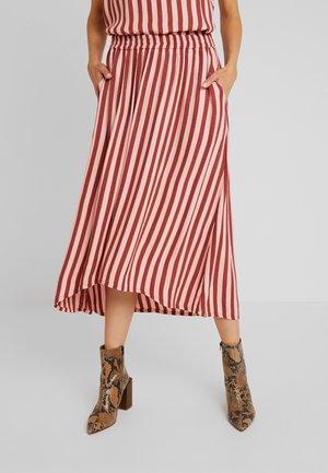 KACANDY SKIRT - A-line skirt - cherry mahogany/bridal rose