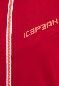 Icepeak - DAHLEN - Fleece jacket - burgundy - 2