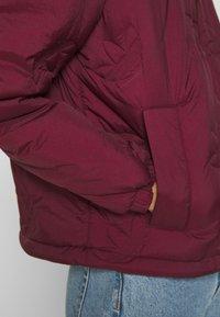 adidas Originals - TREFOIL PUFFER WINTER MIDWEIGHT - Vinterjakke - maroon - 5