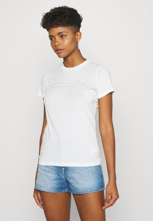 PRIDE TEE - T-shirts med print - white