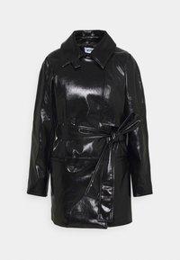 Weekday - JANIS SHORT JACKET - Short coat - black - 7