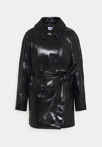 JANIS SHORT JACKET - Short coat - black