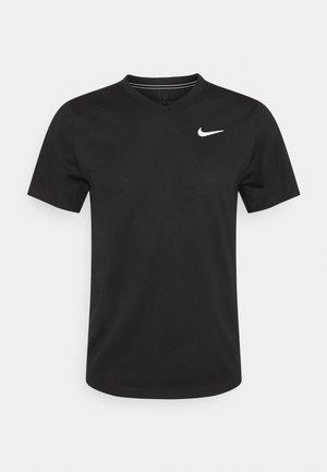 T-shirts basic - black/black/white