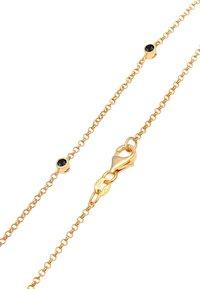 Elli - GLASS CRYSTAL - Necklace - gold - 6