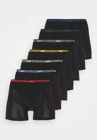Björn Borg - NEON SOLID SAMMY 7 PACK - Underkläder - black beauty - 5
