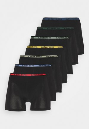 NEON SOLID SAMMY 7 PACK - Pants - black beauty