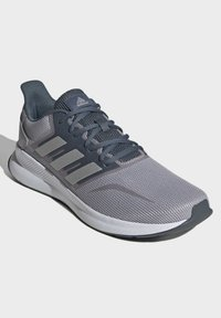 adidas Performance - RUNFALCON SHOES - Stabilty running shoes - grey - 5
