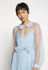 Custommade - LIDI DRESS - Robe de soirée - chambray blue - 4
