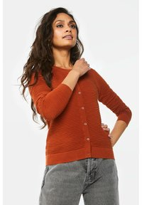 WE Fashion - Cardigan - rust brown - 3