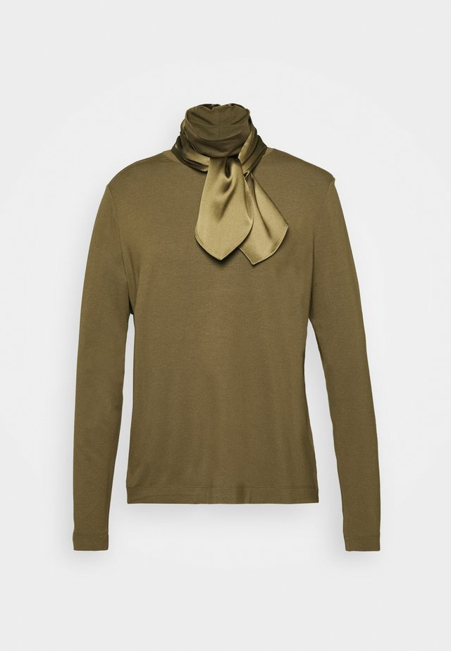 Long sleeved top - militare