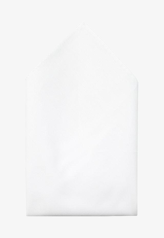 POCKETSQUARE - Pocket square - open white