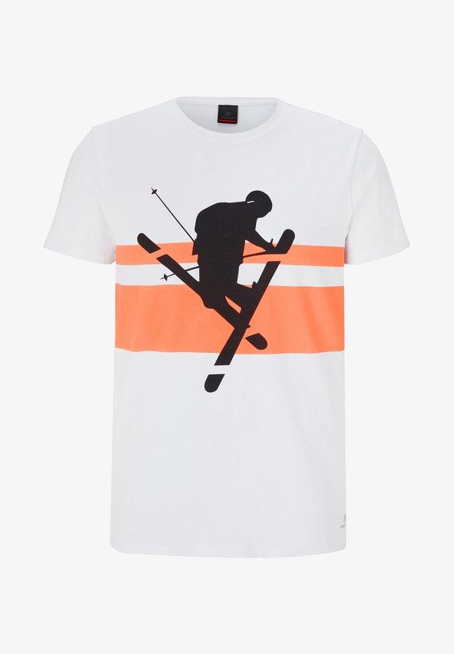 FOX - T-shirt imprimé - weiß