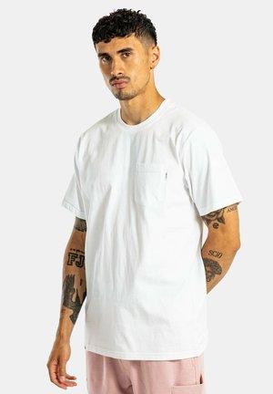REGULAR POCKET - Basic T-shirt - snow white