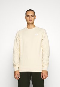 The North Face - RAGLAN REDBOX CREW NEW  - Sweatshirt - bleached sand - 0