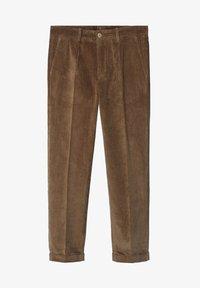 Mango - AUS CORD - Trousers - tobacco-braun - 5
