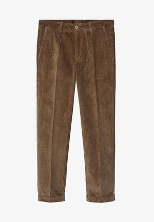 AUS CORD - Pantalones - tobacco-braun