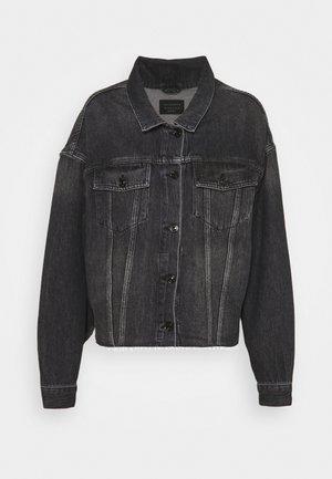 PIPER JACKET - Denim jacket - washed black