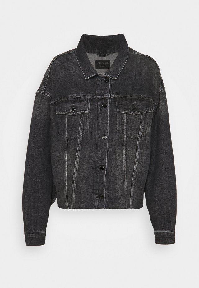 PIPER JACKET - Giacca di jeans - washed black