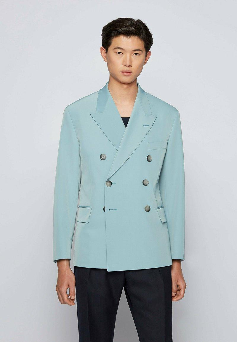 BOSS - ASKAT - Suit jacket - light blue