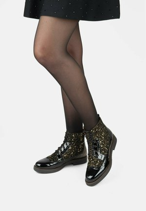 HATTER - Lace-up ankle boots - black