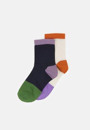 LIZA 2 PACK - Ponožky - multi