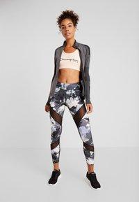 Even&Odd active - Leggings - black/multicoloured - 1