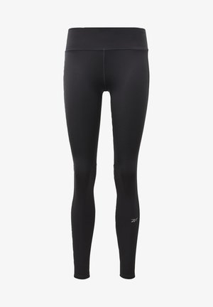 RUNNING ESSENTIALS LEGGINGS - Punčochy - black