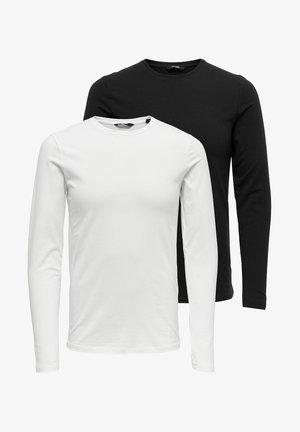 2 PACK - Långärmad tröja - black
