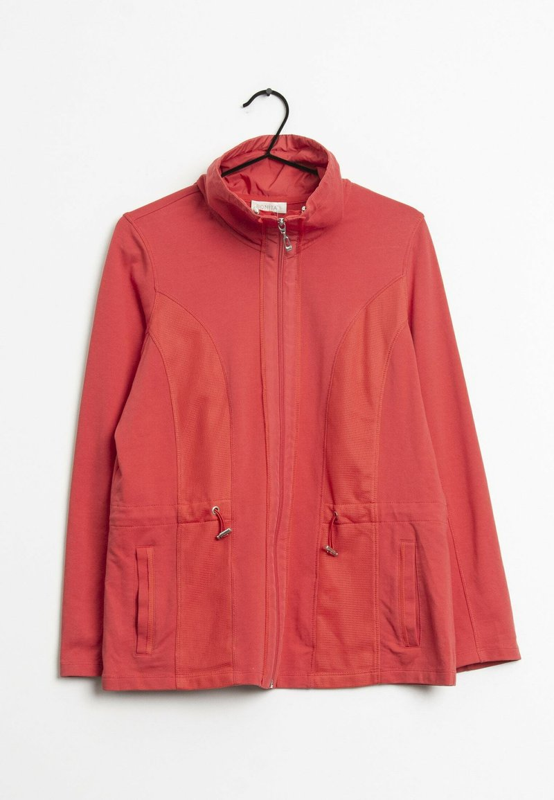 Bonita - Sweater met rits - red