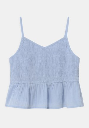 GIRL - Top - bicoastal blue