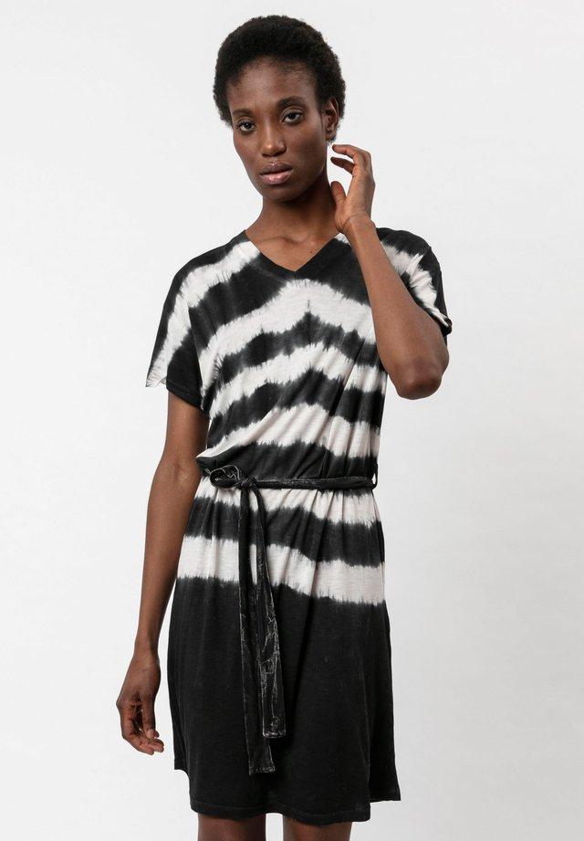 Jerseyklänning - washed black