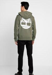 Timberland - ZIP HOODIE - Zip-up hoodie - grape leaf - 2