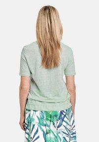 Gerry Weber - 1/2 ARM  - Print T-shirt - aqua grey - 1