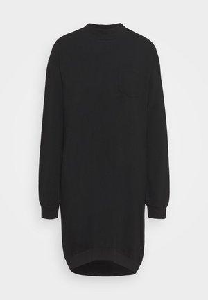 DRESS - Day dress - true black