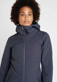 Didriksons - FOLKA WOMEN'S - Waterproof jacket - navy dust - 3