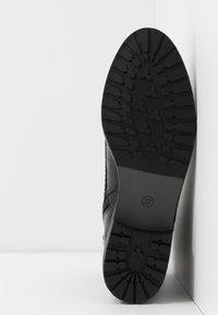 Caprice - BOOTS - Šněrovací kotníkové boty - black - 6