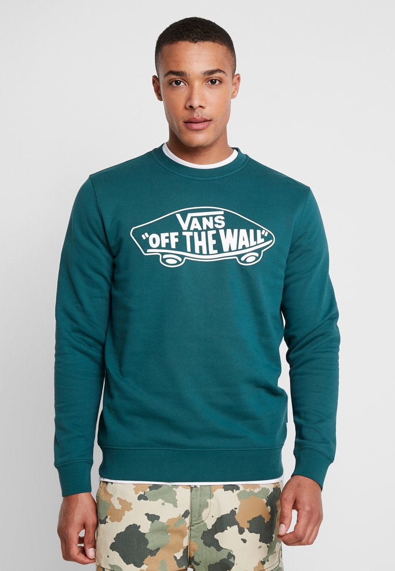 Vans - CREW - Sweatshirts - dark green