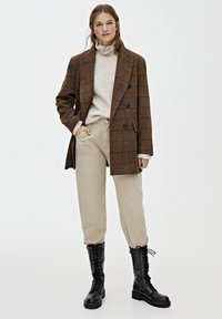 PULL&BEAR - Manteau court - brown - 1