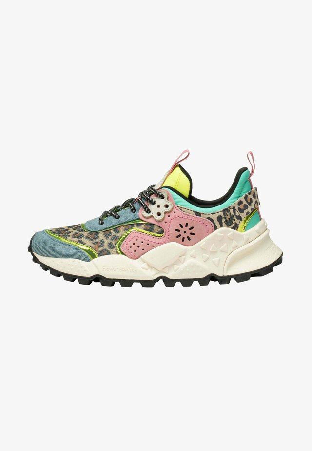 Sneakers basse - azurblau