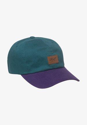 TONE - Gorra - petrol blue / purple