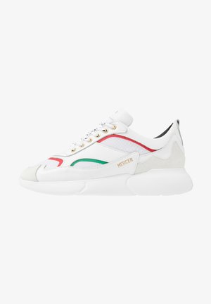 Trainers - red/green/white