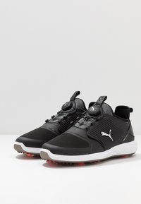 Puma Golf - IGNITE PWRADAPT CAGED DISC - Obuwie do golfa - black/silver - 2