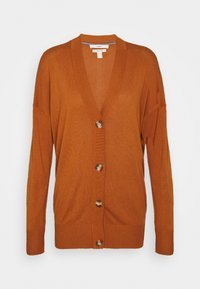 Esprit - BUTTOND CARDI - Cardigan - rust brown - 5