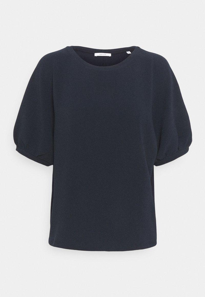 Opus - SASTI - Basic T-shirt - forever blue
