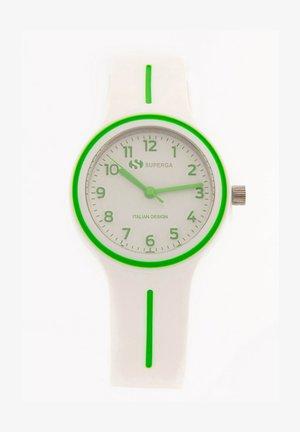 Watch - bianco\verde