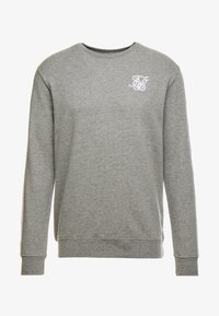 SIKSILK - PANELED CREW NECK - Sweatshirt - grey marl - 3